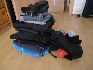 Reisevorbereitungen Update IV – Klamotten für die Tour
